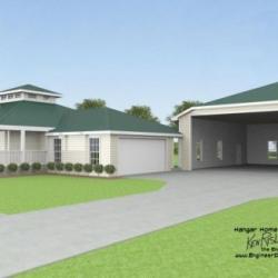 Central Florida Hangar Home