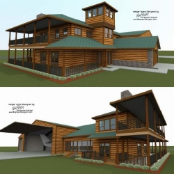 Wyoming Hangar Home