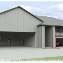 alaska hangar home exterior