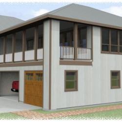 alaska hangar home exterior 2