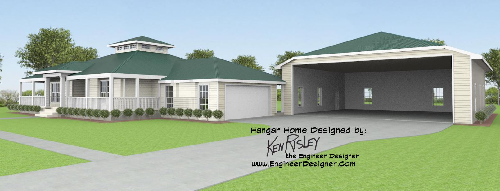 Texas hangar home designs home design for Hangar home plans