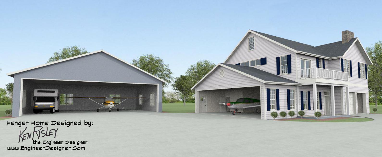 When Considering A Hangar Home Design