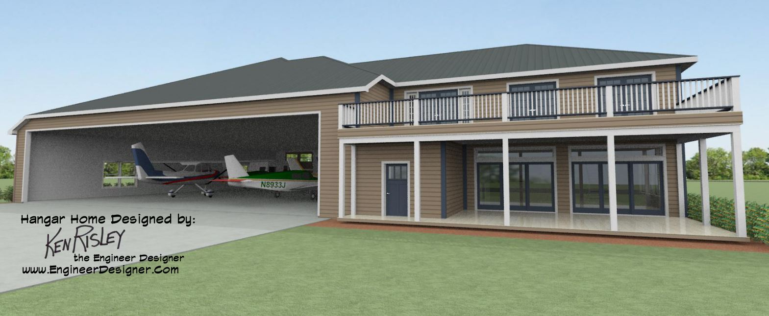 Finding the best hangar home design options residential for Hangar home plans