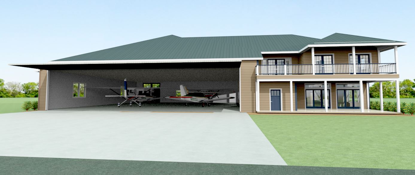 The engineer designer comprehensive design and for Hangar home plans